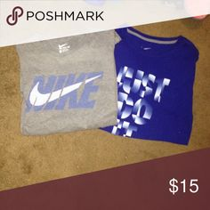 BLUE NIKE T-SHIRT FOR PATRICK !!!! Shirts Tees - Short Sleeve