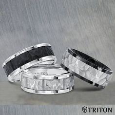 Withstand the wear and tear of everyday life with one of our corrosion and scratch resistant TC.850 Rings. #theoriginalmetalring #TC850 Style number: 11-6036-7