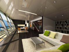 Interior design - Equinox House - Kaliakra Resort, Bulgaria. Structural design - AEC Bulgaria. Architecture - Bignatov Studio