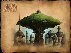 Dream Chronicles 4 concept art 08 | by Fantasy Art