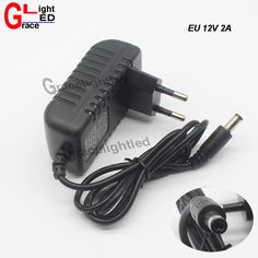 UE Plug AC 100-240 V À DC 12 V 2A 24 W Adaptateur D'alimentation Secteur pour LED bande vente