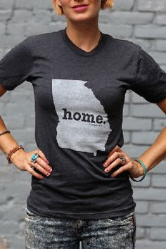 The Georgia Home T-shirt is a stylish way to show off your state pride, while also helping raise money for multiple sclerosis research.