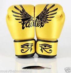 Genuine Fairtex New Limited Edition Falcon Boxing Gloves Genuine Leather | eBay