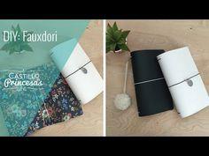 DIY Cómo construir un midori o travelers notebook, cubierta + cuadernos - YouTube
