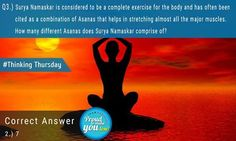 Did you know the answer to this!! #DrAtulPeters #TeamBariatric #ThinkingThursday #Info #Yoga
