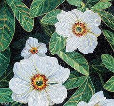 Vetro Green Floral Mosaic :: Sicis