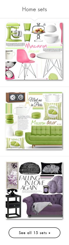 Home sets by pokadoll on Polyvore featuring polyvore interior interiors interior design home home decor interior decorating Dot & Bo The Cellar Magis KitchenAid LSA International Kitchen Craft Colourworks Royal Copenhagen Rosenthal Industrie H&M Joybird Kate Spade Bela Wall Pops! Wedgwood Tivoli Audio Furniture of America Bungalow 5 Pyar & Co. Queen Street Colonial Home Textiles Aquiesse polyvorecommunity polyvoreeditorial polyvoreset Powell Furniture Society Social Charles and Ray Eames…