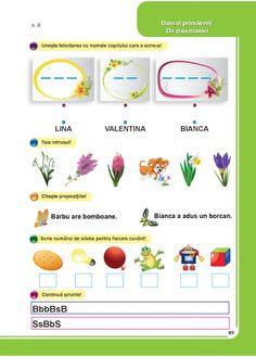 Comunicare in limba romana - Clasa Pregatitoare Kids Education, 8 Martie, School, Children, Health, Early Education, Young Children, Boys, Health Care