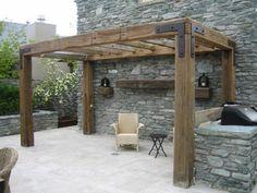 DIY Pergola – Get Yourself An Outdoor Living Room - Cozy DIY