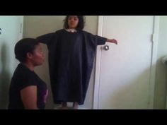 ▶ How to make a belted abaya - YouTube