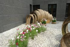 """Graduate School of landscape architecture and design MARCHI is presenting the project """"TAKE HIROSHI"""". Installation at the Japanese Embassy, Moscow."""