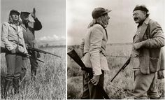 Ernest Hemingway and Slim Keith Hunting in Southern Idaho