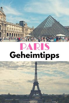 Paris Geheimtipps einer Einheimischen Paris Insider Tips: The best Paris insider tips on the most beautiful sights, activities, the most romantic places for lovers, restaurants, the best places to go and the city beach of Paris Plages. Places To Travel, Travel Destinations, Places To Go, Disneyland Paris, Travel Goals, Travel Advice, Travel Trailer Camping, Beau Site, Most Romantic Places