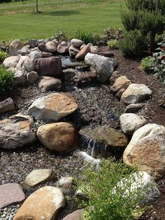 Some photos of the finished project of a recent pond build.
