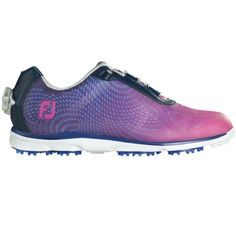 Price: [price_with_discount] The new FootJoy Womens EmPower BOA golf shoes feature bold athletic styling combined with on-course performance. FJ emPower golf shoes have a breatheasy sport me… Best Golf Shoes, Spikeless Golf Shoes, Womens Golf Shoes, Shoes Women, Discount Golf Shoes, Most Comfortable Golf Shoes, Footjoy Golf, Shoes 2015, Golf Wear