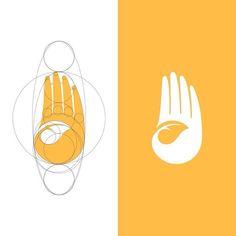 Typography Logo, Art Logo, Logo Branding, Branding Design, Charity Branding, Designers Gráficos, Grid, Logo Concept, Creative Logo