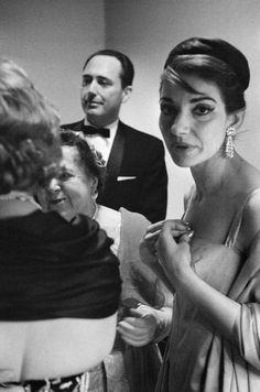 Maria Callas Pennsylvania. Philadelphia