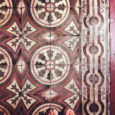 Mosaico hidráulico, Santiago de Compostela - photo: Rosa Pomar