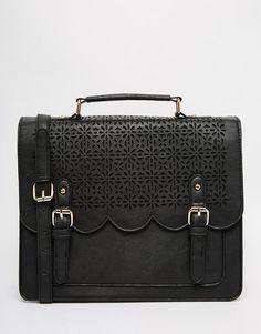 ASOS | ASOS Scallop Satchel Bag at ASOS