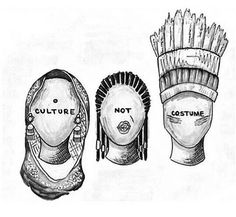 People really misunderstand the meaning of cultural appropriation. Cultural appropriation is not respectful appreciation (which should be encouraged), but undermining and belittling other cultures. Appropriation Culturelle, Thinking Day, Intersectional Feminism, Faith In Humanity, Social Issues, Social Justice, Equality, Religion, History
