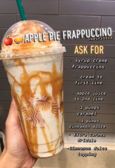 Bebidas Do Starbucks, Starbucks Secret Menu Drinks, Starbucks Frappuccino, Starbucks Coffee, Starbucks Order, Secret Starbucks Recipes, Café Vintage, Snacks Saludables, Smoothie Drinks