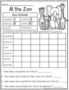 freebie solving story problems at the zoo first grade sarah anne 39 s. Black Bedroom Furniture Sets. Home Design Ideas
