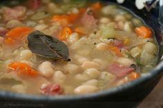 Smoked White Bean & Ham Soup