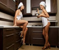 46 Pictures of Hot Girls Doing Chores