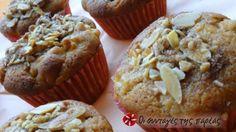 Apple and cinnamon muffins συνταγή από anniokm My Favorite Food, Favorite Recipes, Cinnamon Muffins, Cheesecake Cupcakes, Recipe Images, Dessert Recipes, Desserts, Cupcake Cakes, Sweet Tooth