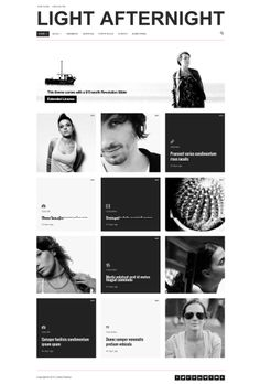 Light Afternight  |  Responsive, Simple, Wordpress Template  |  themeforest  |  http://freewpresources.com/afternight-light/