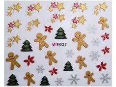 Condividi i nostri prodotti avrai uno sconto del 5 %,fai sapere che ci sei Nail Sticker Natale mod032 #originalnail