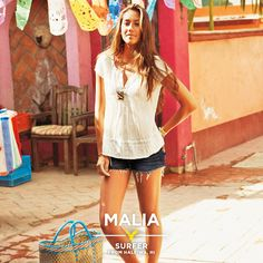 Meet Malia, a surfer from Haleiwa, HI featured in American Eagle Outfitters' Summer 2013 campaign.