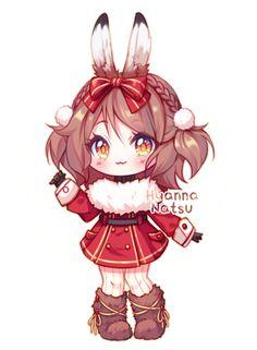 Annie Day 06 Snowshoe Hare! by Yamio.deviantart.com on @DeviantArt