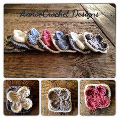 FReeRavelry: Flower Granny pattern by Annoo Crochet