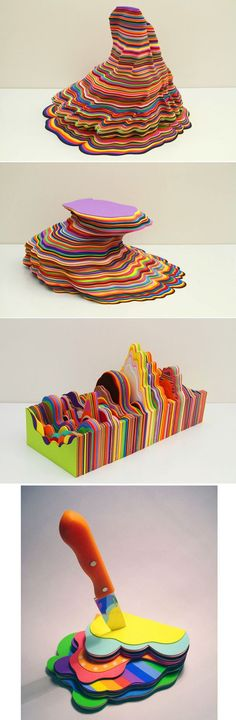 Foam Sculptures   31 Works Of Art We Can All Appreciate -- All of her sculptures are just so, so cool. By Ana Bidart.: