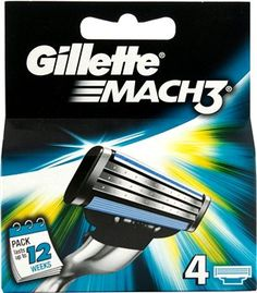 Gillette Mach 3 Blades Gillette Mach 3 Replacement Blades The Gillette Mach 3 Razor provides a clean and comfortable shave in fewer strokes with less skin irritation. Gillette Mach 3 Razor contains an indicatory lubricating http://www.MightGet.com/january-2017-12/gillette-mach-3-blades.asp