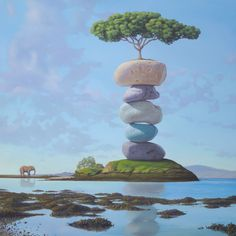 Paul Bond Fine Art - Gallery of Magic Realism, Surrealism, Surrealist, Fantastic Realism  LEIGH CHECK THIS OUT