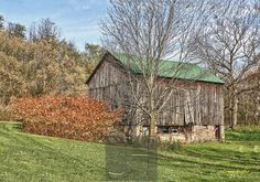 Barn, Lockport, NY (Autumn) Get professionally printed copies of any of my photos, and merchandise featuring my photos, at www.JHughesPhoto.smugmug.com