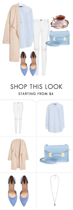 """""""RAIGN - raise the dead"""" by anastasiiastyles ❤ liked on Polyvore featuring Violeta by Mango, Kofta, Sophie Hulme, H&M and Forever 21"""