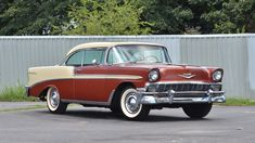 1956 Chevrolet Bel Air Hardtop Cancelled Lot for sale by Mecum Auction 1956 Chevy Bel Air, Chevrolet Bel Air, Chevrolet Impala, Vintage Cars, Antique Cars, American Auto, Trucks And Girls, Us Cars, Mopar