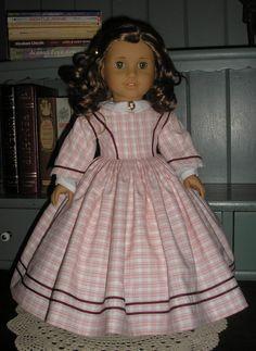 Thimbles and Acorns 1860 Dress