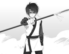 Young Hak from Yona of the Dawn