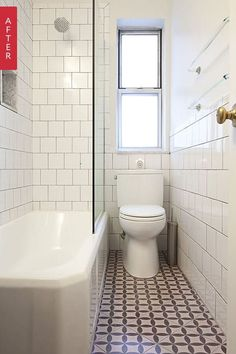 Before & After: A Tiny Vintage Bathroom Gets a Fresh Look — From the Archives: Greatest Hits