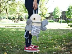Butterfly zippered backpack | Zacola: kids bag | kids school lunch bag | Bag with wings adjustable straps