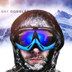 Motocross Goggles Ski Motorcycle goggles Glasses ATV Clear Lens Ski Helmet Off-road For Kawasaki z800 YZF MT Dirt Bike Glasses