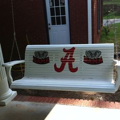 Alabama porch swing. Want.
