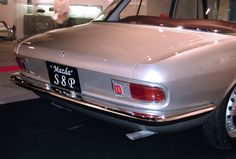 OG | 1965 Mazda S8P | Designed by Giugiaro at Bertone, it was an updated version of the Luce concept. S8P was powered by a rotary engine which drove the front wheels, predicting the 1969 Mazda Luce Rotary Coupé. This prototype was shown at the 1965 Tokyo Motor Show.