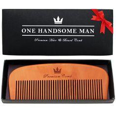 Premium Beard Comb - Quality Pear Wood