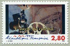 Caméraman 1er siècle du cinéma - Timbre de 1995