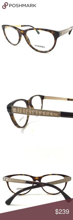 CHANEL Eyeglasses Tortoise Gold NWOT CHANEL Eyeglasses  Tortoise Antique Gold Frame 54mm-16mm-140mm New Without Tags!!! Includes an original Chanel case   CHANEL CASE MAY VARY!!! Guarantee 100% Authentic We Ship Next Day!!!!                                                🌷NO TRADES🌷 🌷We will consider reasonable offers🌷 CHANEL Accessories Glasses